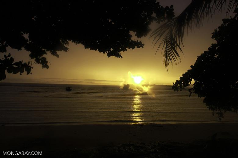 Bunaken dawn