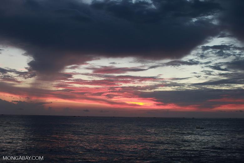 Sunrise near Batu Putih