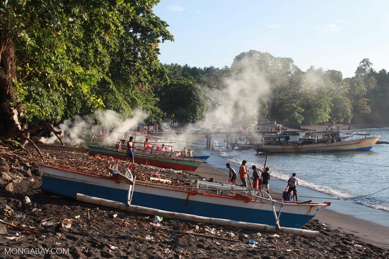 Fishing village of Batu Putih