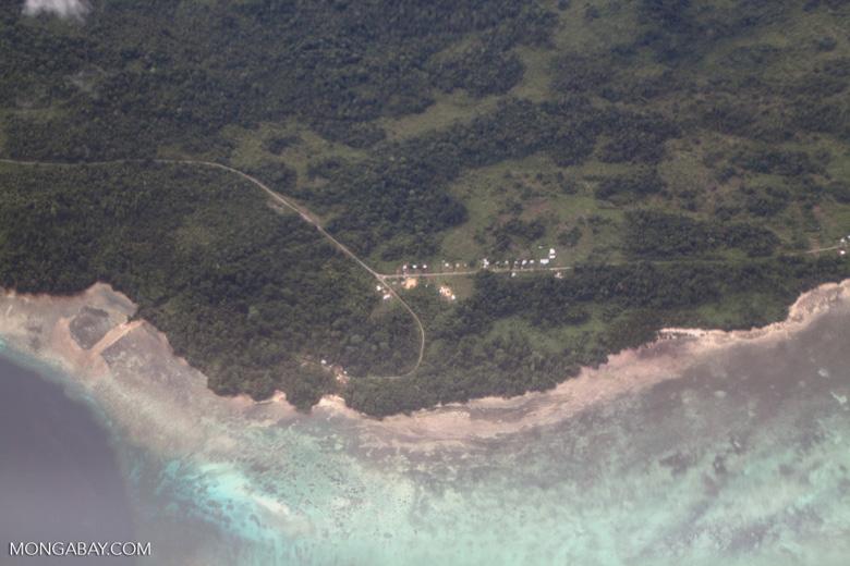 Coastal settlement in New Guinea