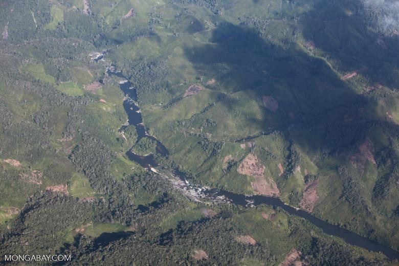 Aerial view of deforestation in Madagasar [madagascar_1743]