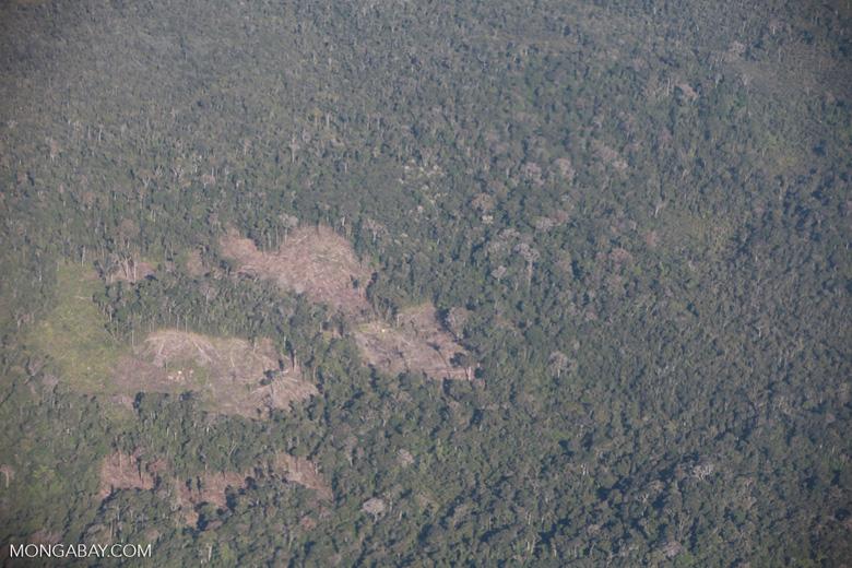 Aerial view of deforestation in Madagasar [madagascar_1757]
