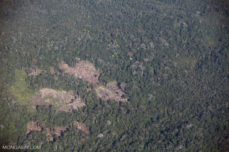Aerial view of deforestation in Madagasar [madagascar_1758]