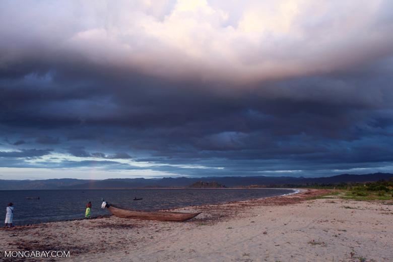 Bay on Antongil at dawn [madagascar_2241]