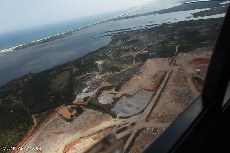 Mining near Ft. Dauphin