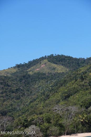 Deforestation near Lokobe Reserve [madagascar_4536]