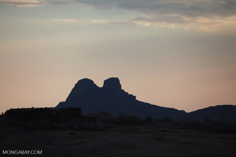 Mountain peak near Andringitra [madagascar_5817]