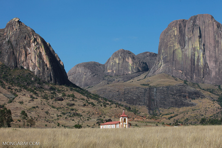 Church in the Tsaranoro Valley