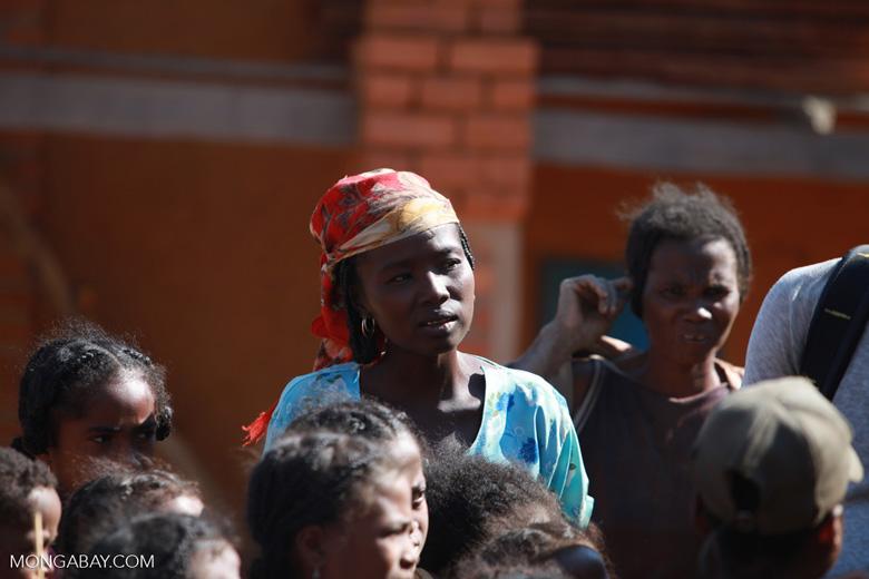 Girl in a Tsaranoro Valley village [madagascar_6012]