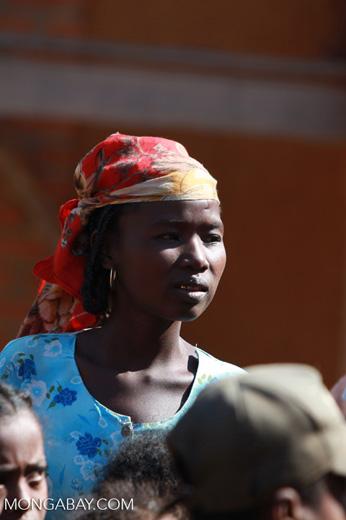 Girl in a Tsaranoro Valley village [madagascar_6014]