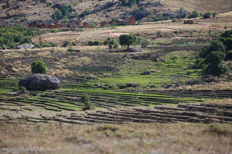 Village in the Tsaranoro Valley [madagascar_6037]