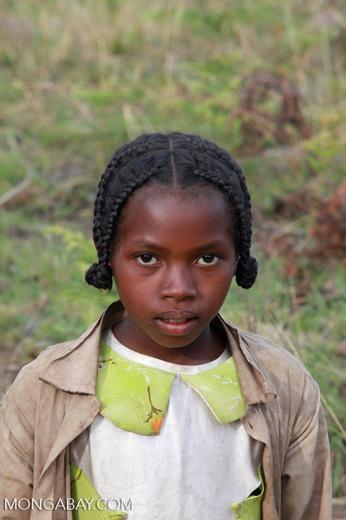 Girl in the Antanifotsy Valley