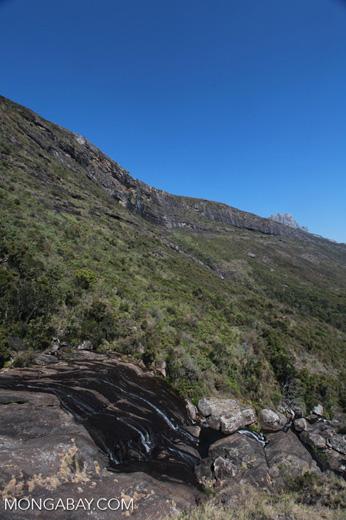 Riandahy waterfall of Andringitra