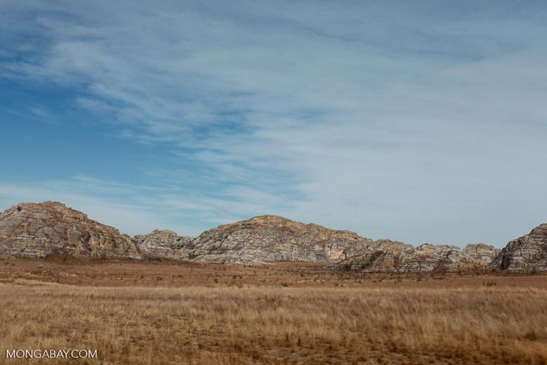 Rock formations near Isalo [madagascar_7386]