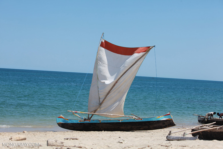 Vezo fishing pirogue