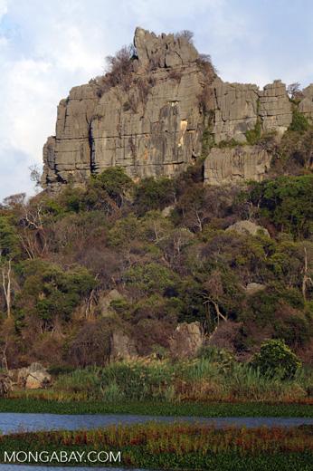 Tsingy of Ankarana as seen from the western side [madagascar_ankarana_0008]