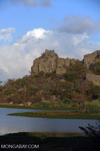 Tsingy of Ankarana as seen from the western side [madagascar_ankarana_0011]