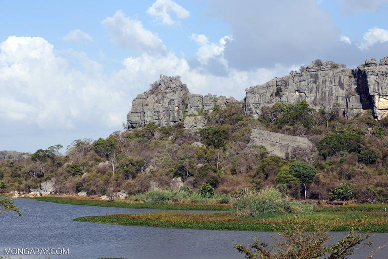 Tsingy of Ankarana as seen from the western side [madagascar_ankarana_0020]
