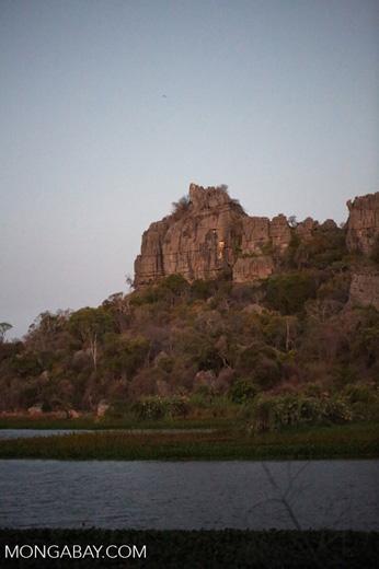 Tsingy of Ankarana as seen from the western side [madagascar_ankarana_0167]