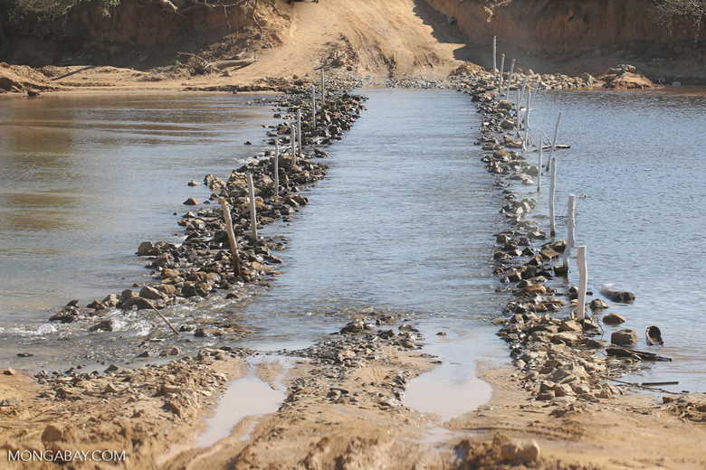 River crossing in Madagascar