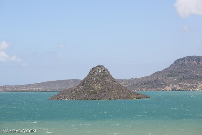 Mountain in Antsiranana Bay