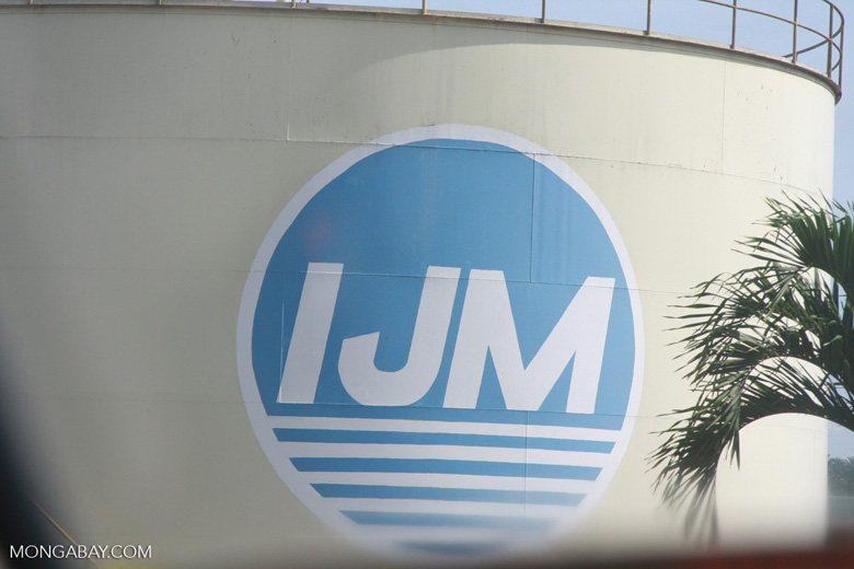 IJM palm oil holding tank