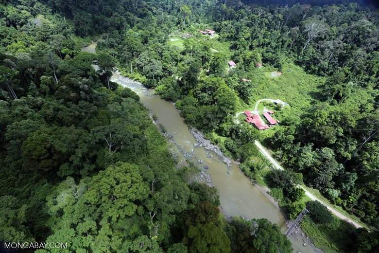 Research facility in the Heart of Borneo -- sabah_aerial_0162