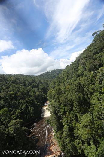 Maliau Falls -- sabah_aerial_1257