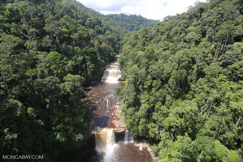 Maliau Falls -- sabah_aerial_1267