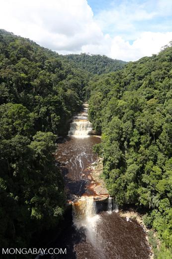 Maliau Falls -- sabah_aerial_1269