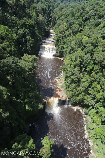 Maliau Falls -- sabah_aerial_1281