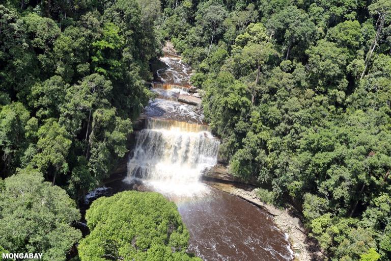 Maliau Falls -- sabah_aerial_1299