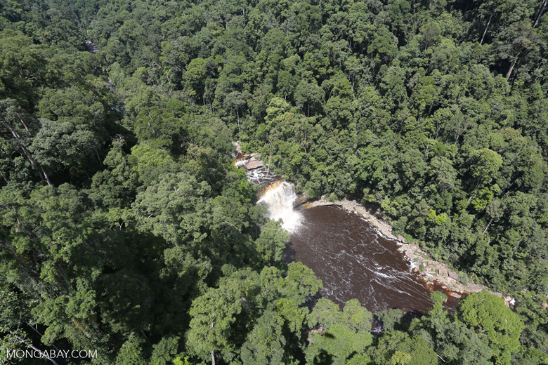 Maliau Falls -- sabah_aerial_1353