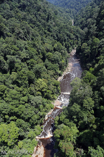 Maliau Falls -- sabah_aerial_1372