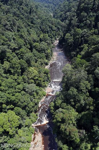 Maliau Falls -- sabah_aerial_1375