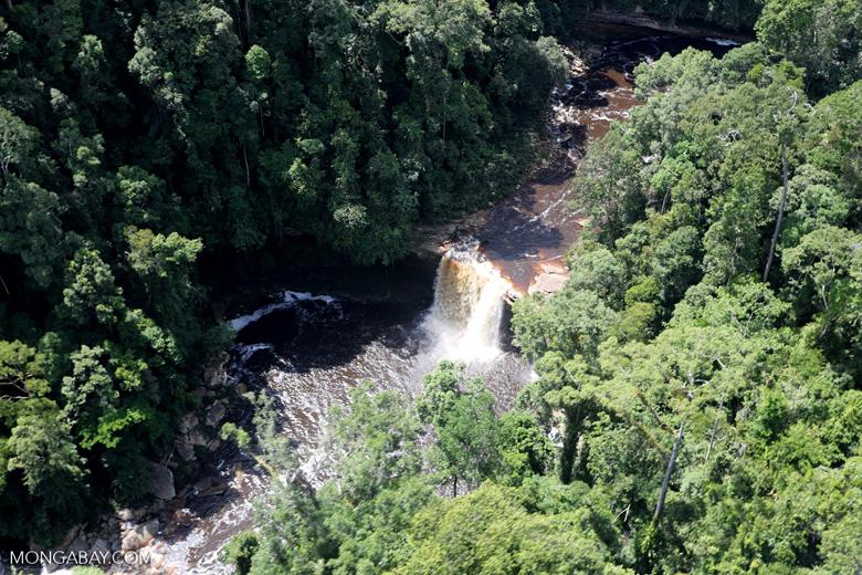 Maliau Falls -- sabah_aerial_1409