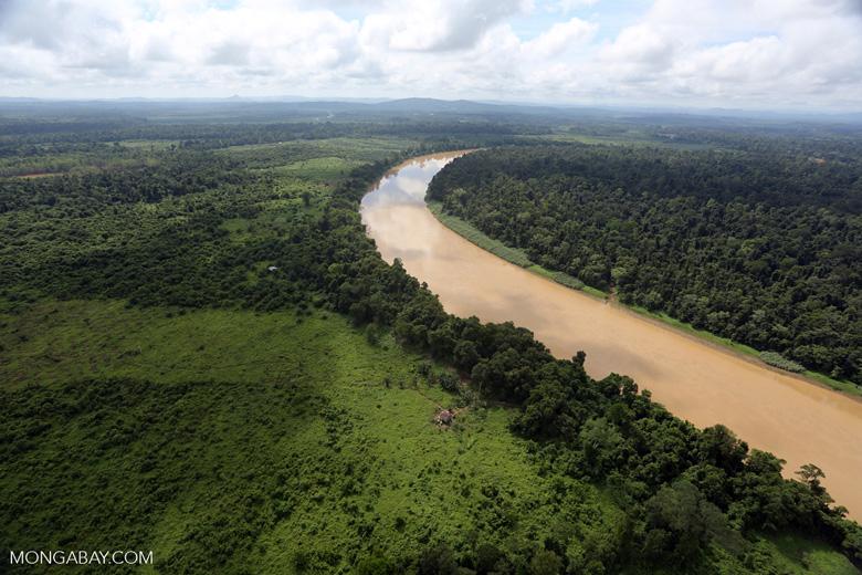 Kinabatangan River -- sabah_aerial_3054
