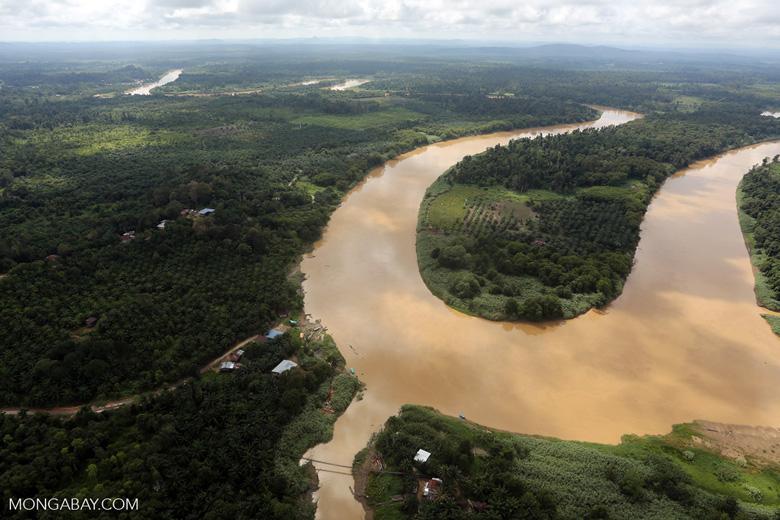 Kinabatangan River -- sabah_aerial_3074