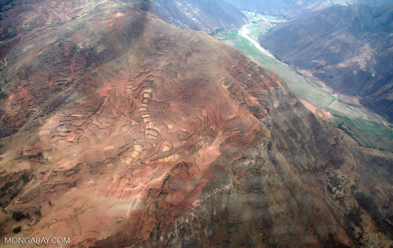 Andes mountains in Peru [aerial-andes-Aerial_1024_3128]