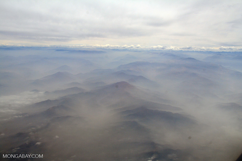 Andes mountains in Peru [aerial-andes-Aerial_1026_3156]