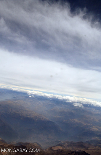 Andes mountains in Peru [aerial-andes-Aerial_1026_3160]