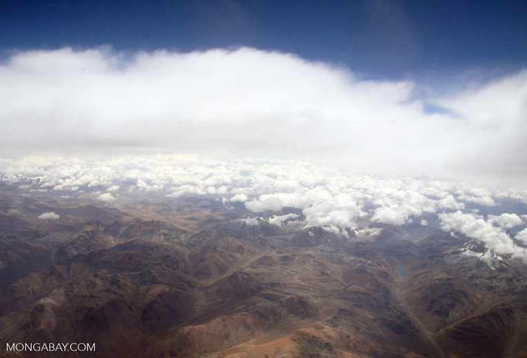Andes mountains in Peru [aerial-andes-Aerial_1026_3167]