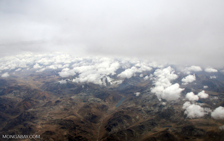 Andes mountains in Peru [aerial-andes-Aerial_1026_3168]