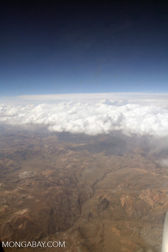 Andes mountains in Peru [aerial-andes-Aerial_1030_5202]