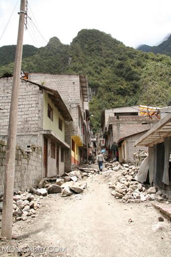 Street in Machu Picchu Pueblo