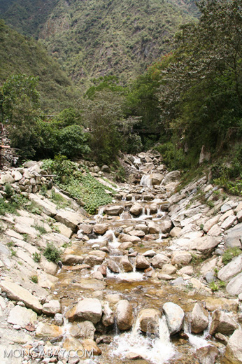 Creek in Machu Picchu Pueblo