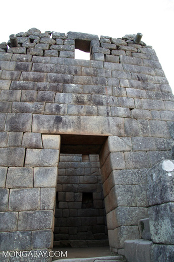 Door at Machu Picchu