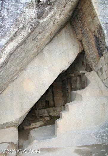 Tomb at Machu Picchu