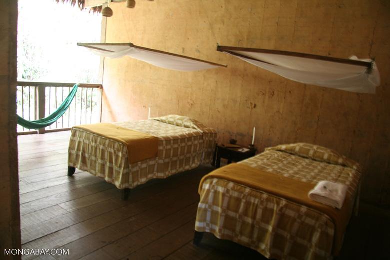 Guestroom at Posada Amazonas