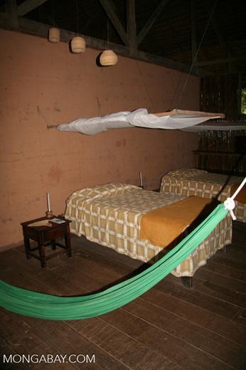Guest room at Posada Amazonas